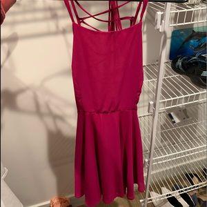 open back Lulu dress